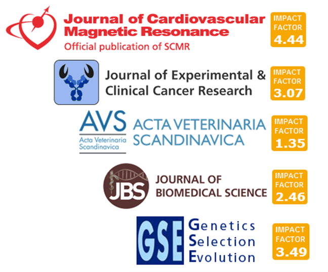 Logos for BioMed Central journals