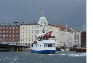 Copenhagen viewed from the water