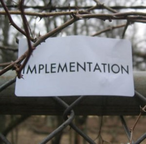Implementation (adapted from Scott Rettberg, Flickr)