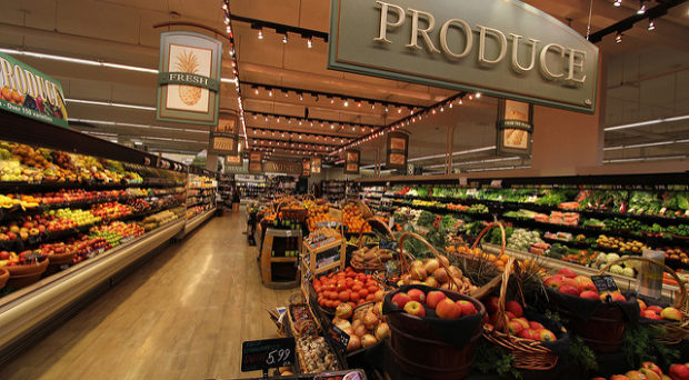 Retail food stores and supermarkets are important environmental settings for promoting healthy food choices.