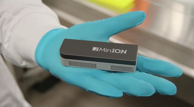 The palm-sized MinION™ nanopore DNA sequencer