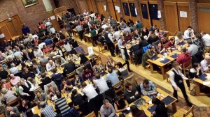 Dinner and ceilidh at Robinson college, image provided by Ahmed Salman