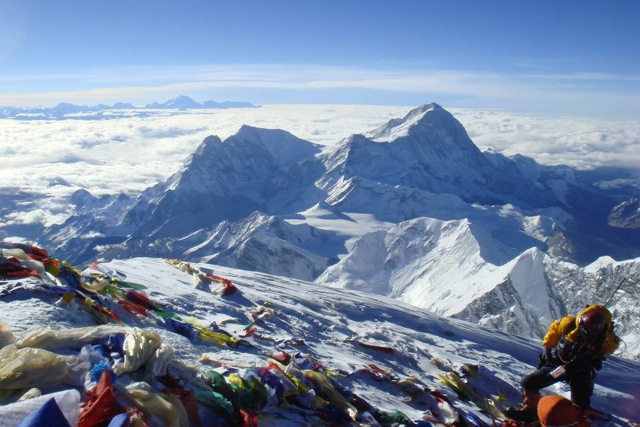 View from the top of Mount Everest - On Health