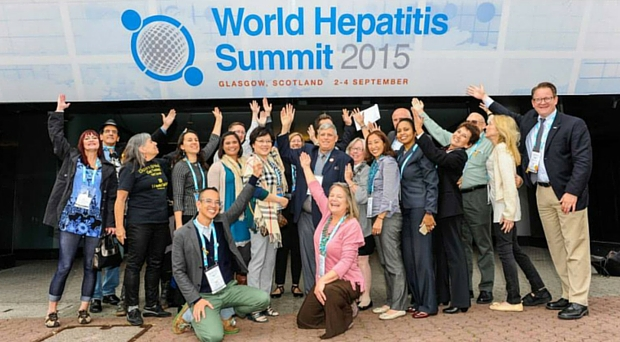 Delegates representing hepatitis patient groups from around the world couldn't be happier to gather in Glasgow.