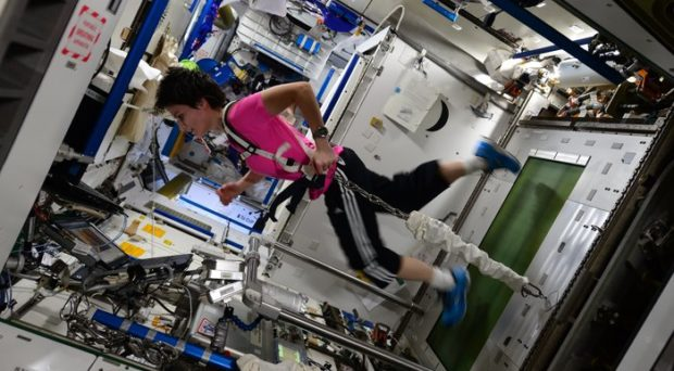 how astronauts exercise in space - photo #8