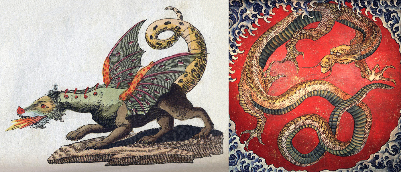 Where do dragons come from? The psychology of myth