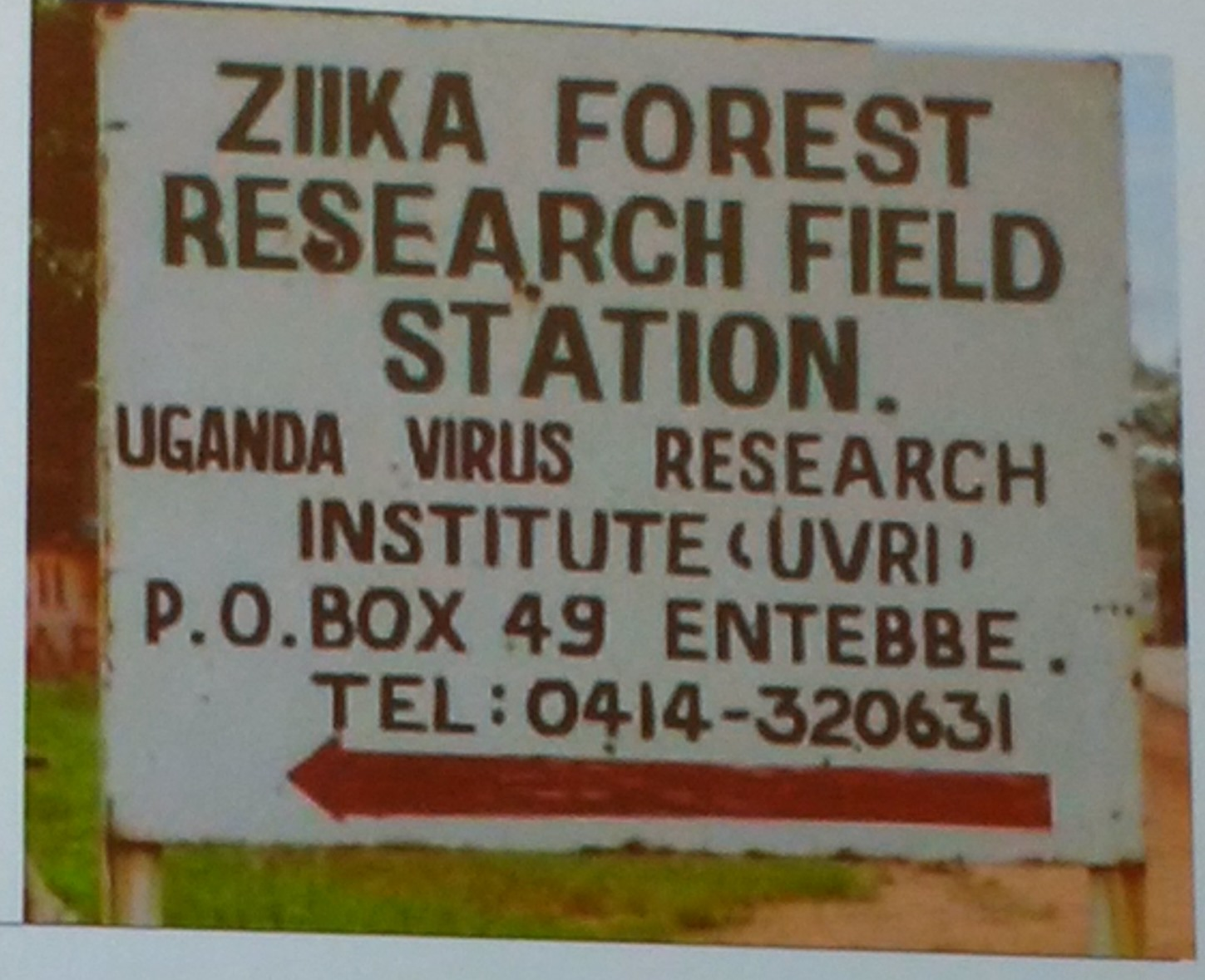 Zika research station