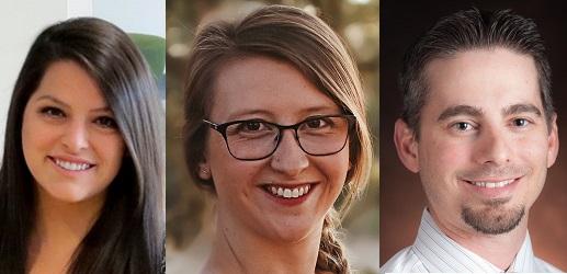 Madeline Casanova, Megan Nelson & Russell Baker